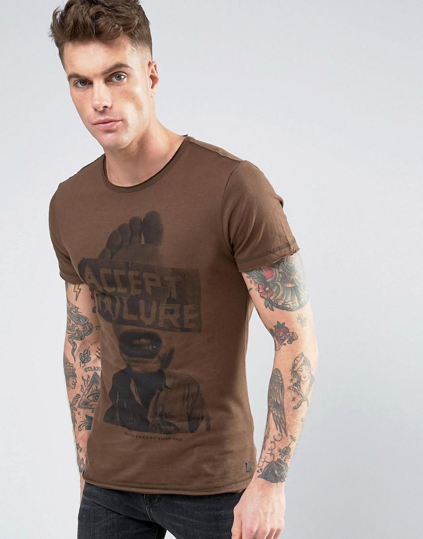 blend-t-shirt-accept-failure-marron