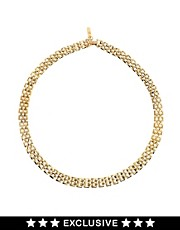 Susan Caplan Exclusive For ASOS Vintage &#39;80s Overlay Link Necklace