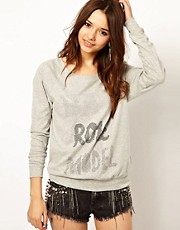 River Island Bad Role Model Sweat Top