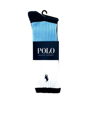 Image 2 ofPolo Ralph Lauren Colour Block Socks