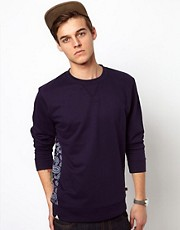 Bellfield Sweatshirt With Printed Panel