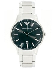 Reloj de acero inoxidable AR2457 de Emporio Armani