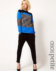 ASOS PETITE Peg Trousers in Jersey
