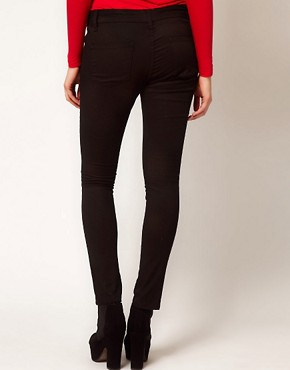 Image 2 ofASOS Maternity Skinny Trousers In Twill