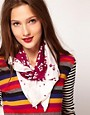 Image 1 ofSonia By Sonia Rykiel Blueberries Scarf