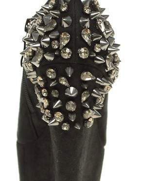 Image 2 ofRiver Island Spiked Heeled Bootie