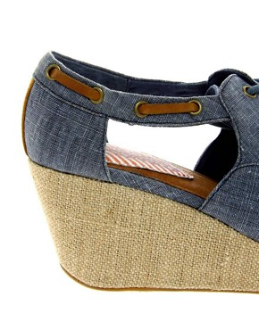 Image 3 of80%20 Malia Wedge Linen Sandal