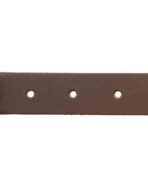 Image 4 ofASOS Brown Leather Chino Belt