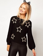ASOS 3D Star Jumper
