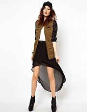 River Island Double Layer Skirt