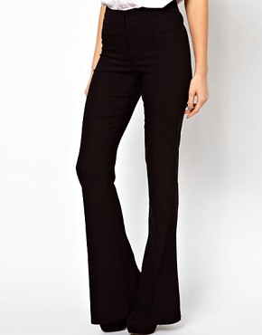 Image 4 ofASOS Skinny Flare Trousers
