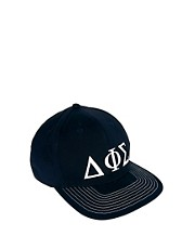 ASOS Snap Back Cap with Greek Letter Design