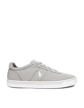 Image 4 ofPolo Ralph Lauren Hanford Canvas Trainers