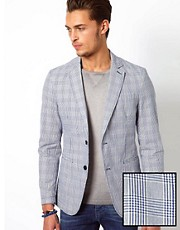 United Colors Of Benetton Casual Check Blazer