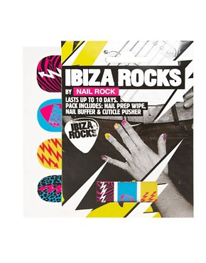 Bild 1 von Nails Rock  Ibiza Rocks  Nagelfolien