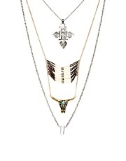 River Island Western Necklace Pack