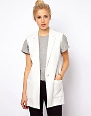 ASOS Waistcoat in Longline