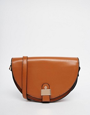 ASOS 70s Saddle Cross Body Bag