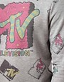 Image 3 ofASOS Sweatshirt With All Over MTV Print