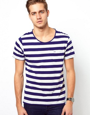 Image 1 ofSelected Stripe T-Shirt