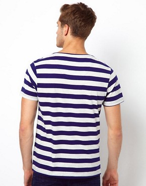 Image 2 ofSelected Stripe T-Shirt