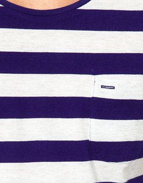 Image 3 ofSelected Stripe T-Shirt