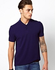 ASOS Polo With Shawl Collar