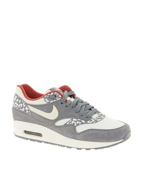 Image 1 ofNike Air Max 1 ND Grey Leopard Trainers