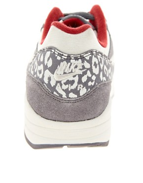 Image 2 ofNike Air Max 1 ND Grey Leopard Trainers