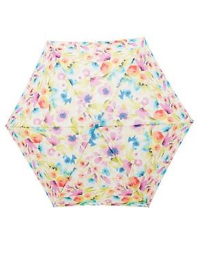 Image 2 ofFulton Super Slim 2 Soft Floral Umbrella