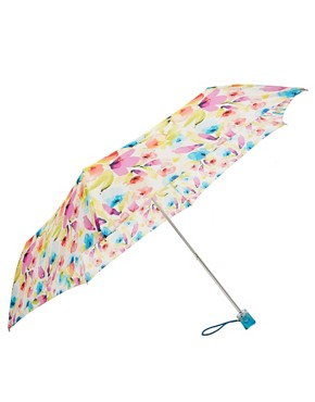 Image 1 ofFulton Super Slim 2 Soft Floral Umbrella