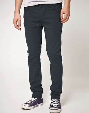 Image 1 ofASOS Skinny Jean In Dark Blue