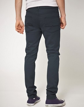 Image 2 ofASOS Skinny Jean In Dark Blue
