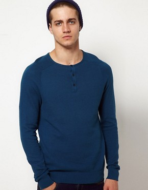 Image 1 ofASOS Grandad Neck Jumper