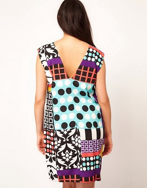Image 2 ofASOS Curve Dress In Rocco Print