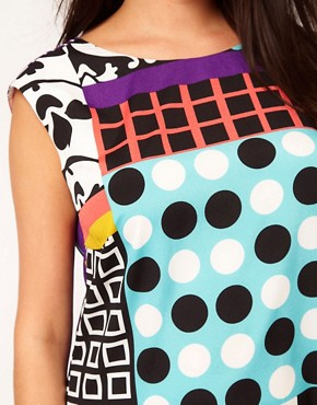 Image 3 ofASOS Curve Dress In Rocco Print