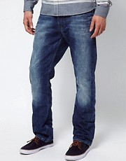 G Star - New Radar - Jeans dritti stretti in fondo