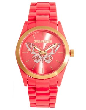 Image 1 ofZadig &amp; Voltaire Red Butterfly Watch
