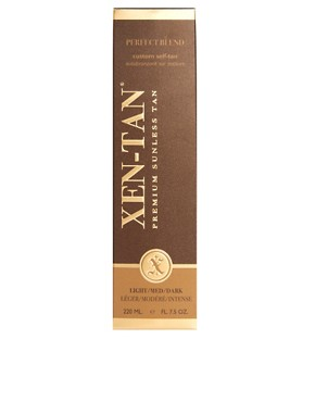 Image 2 ofXen-Tan Premium Sunless Tan Perfect Blend Custom Self Tan 220ml