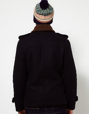 Image 2 ofBellfield Borg Collar Coat
