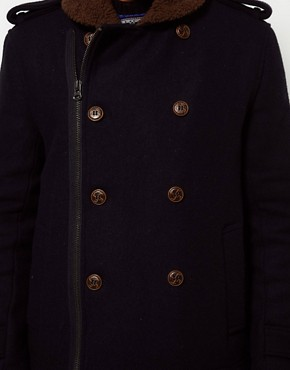 Image 3 ofBellfield Borg Collar Coat