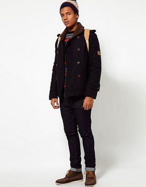 Image 4 ofBellfield Borg Collar Coat