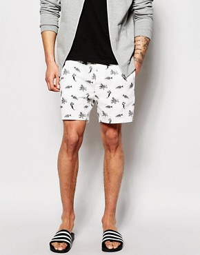 ASOS Chino Shorts With Print