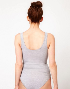 Image 2 ofAmerican Apparel Zip Front Jersey Body