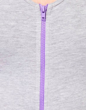 Image 3 ofAmerican Apparel Zip Front Jersey Body