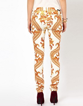 Image 2 ofCitizens Of Humanity Rococo Printed Skinny Jeans