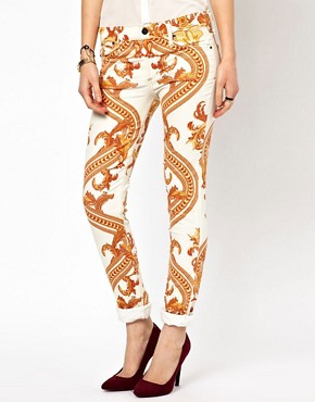 Image 4 ofCitizens Of Humanity Rococo Printed Skinny Jeans