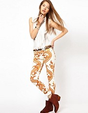 Citizens Of Humanity Rococo Printed Skinny Jeans