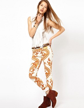 Image 1 ofCitizens Of Humanity Rococo Printed Skinny Jeans