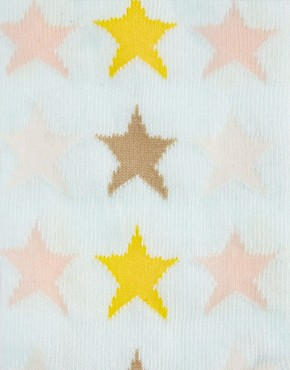 Image 4 ofPieces Two Pack Socks In Heart And Stars Print